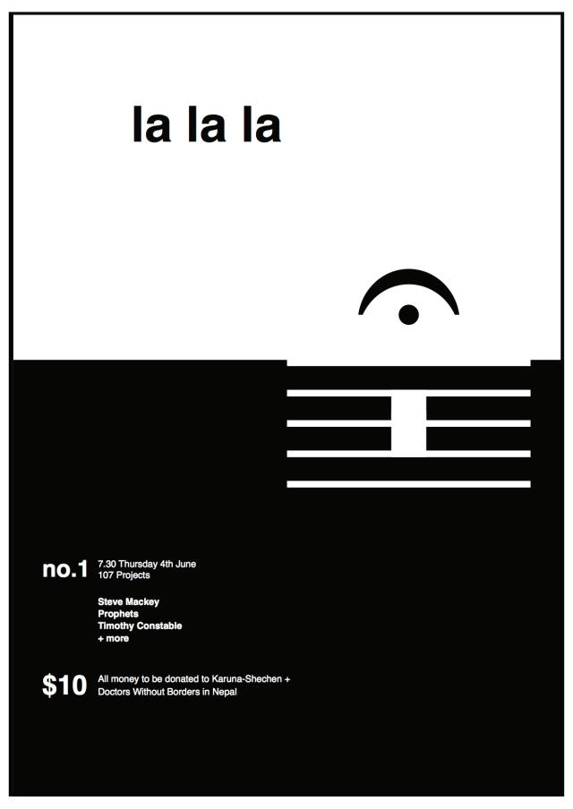 lalala flyer