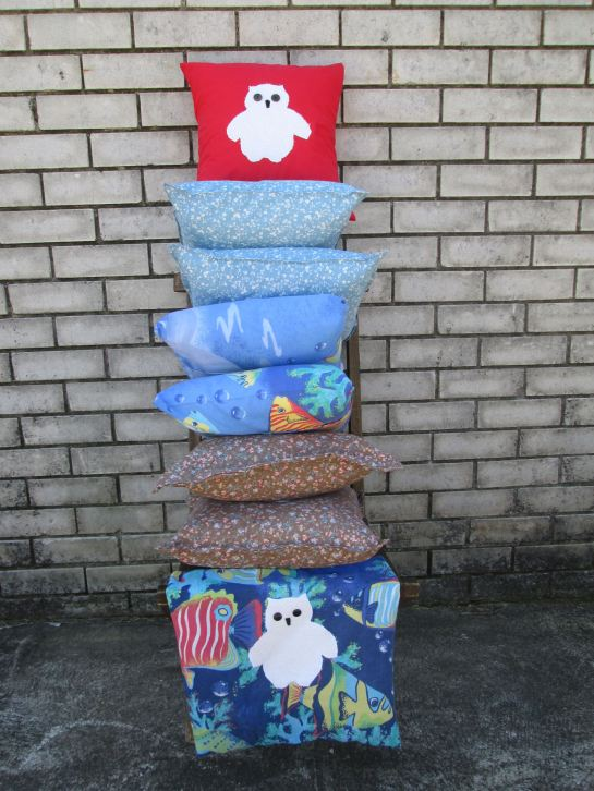mr owl cushions - stack 2